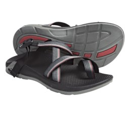 Chaco Zong Sandals - EcoTread (For Men) in Red Line