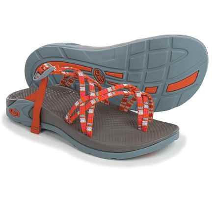 Chaco Zong X Sandals (For Women) in Banded Tangerine - Closeouts