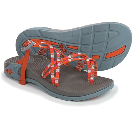 Chaco Zong X Sandals (For Women) in Banded Tangerine