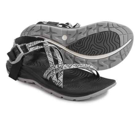 Chaco Zvolv X Sport Sandals (For Women) in Alloy Dancer - Closeouts