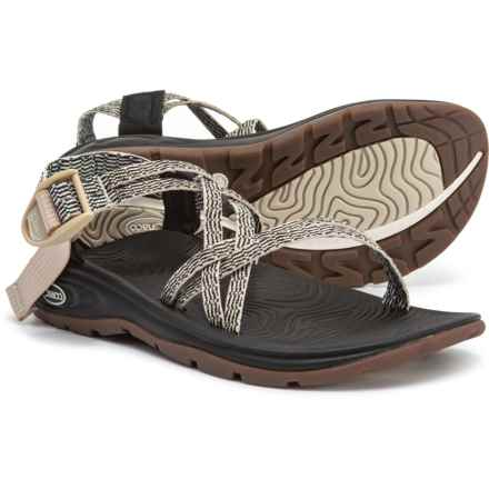 d147aaeb0741 Chaco Zvolv X Sport Sandals (For Women) in Black White - Closeouts