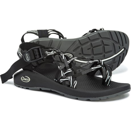 6322b83d2435 Chaco ZX3 Classic Sandals (For Women) in Scatter Black And White