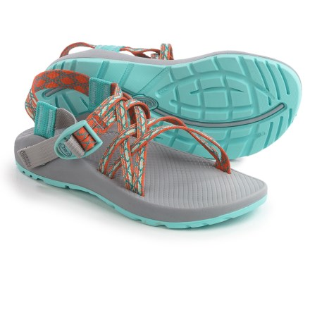 5cc995599faf Chaco ZX 1 Classic Sport Sandals (For Women) in Paloma Tangerine - Closeouts