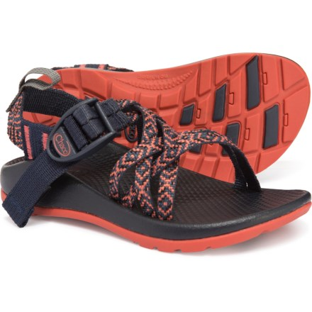 a585a89bb3de Chaco ZX 1 Ecotread Sport Sandals (For Boys) in Padded Eclipse