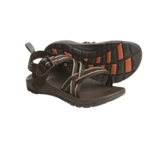 Chaco ZX/1 Sandals (For Girls) in Chocolate/Flower Patch - Closeouts
