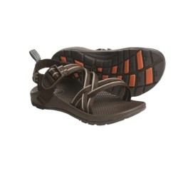 Chaco ZX/1 Sandals (For Girls) in Chocolate/Flower Patch