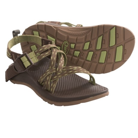 Chaco ZX/1 Sport Sandals (For Kids and Youth) in Leaf Vines