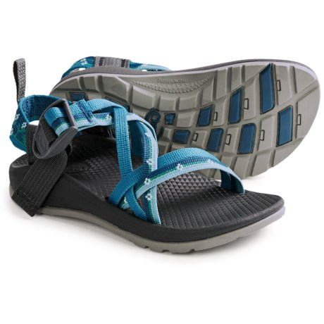 Chaco ZX/1 Sport Sandals (For Kids and Youth) in Petunia