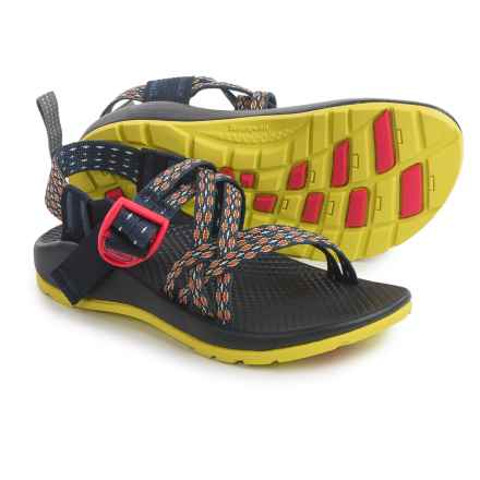 Chaco ZX/1 Sport Sandals (For Little and Bid Kids) in Crest Citrus - Closeouts