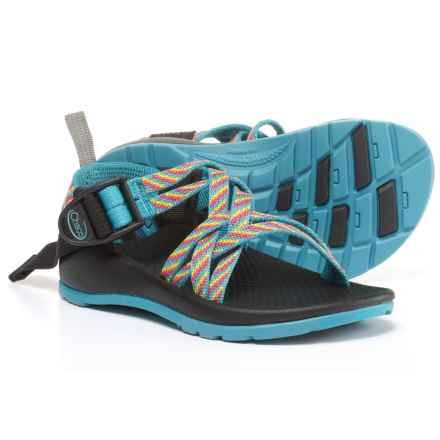 Chaco ZX/1 Sport Sandals (For Little and Bid Kids) in Fiesta - Closeouts