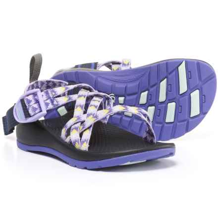 Chaco ZX/1 Sport Sandals (For Little and Bid Kids) in Pyramid Orchid - Closeouts