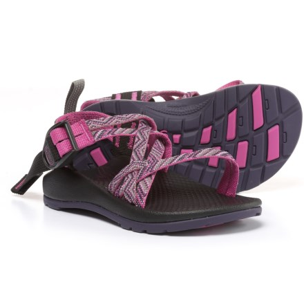 f6abe39dbd6fe Chaco ZX/1 Sport Sandals (For Little and Big Kids) in Faded Pink