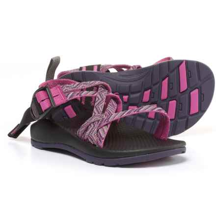Chaco ZX/1 Sport Sandals (For Little and Big Kids) in Faded Pink - Closeouts
