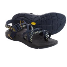 Chaco ZX/2 Yampa Campus Sport Sandals - Vibram® Outsole (For Women) in Gold/Navy - Closeouts