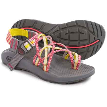 Chaco ZX/3® Classic Sport Sandals (For Women) in Basket Rouge - Closeouts
