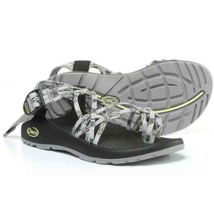 Chaco ZX/3® Classic Sport Sandals (For Women) in Lime Gray - Closeouts