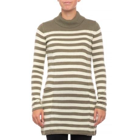 Image of Chadwick Stripe Tunic Sweater (For Women)