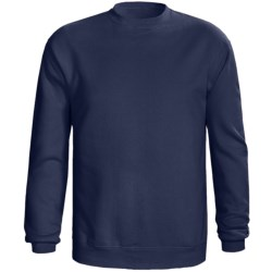 Champion 50/50 Sweatshirt - Long Sleeve (For Men and Women) in Navy