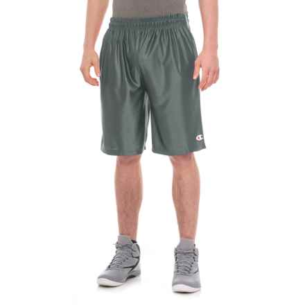 "Champion Active Shorts -10"" (For Men) in Grey - Closeouts"