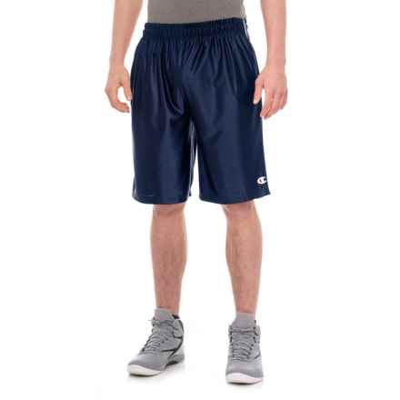 "Champion Active Shorts -10"" (For Men) in Navy - Closeouts"