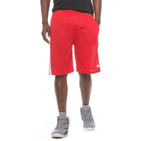 Champion Athletic Shorts (For Men) in Red