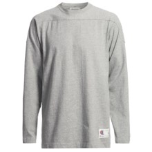 Champion Authentic Athletic Apparel Heavyweight Shirt - Crew Neck, Long Sleeve (For Men) in Grey Heather - 2nds