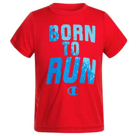 Champion Born to Run T-Shirt - Short Sleeve (For Infant Boys) in Crimson - Closeouts