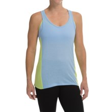 Champion Burnout Back Tank Top - Racerback (For Women) in Roaming Blue/Vagabond - Closeouts
