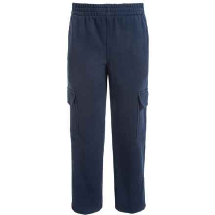 Champion Cargo Fleece Sweatpants (For Big Boys) in Navy - Closeouts