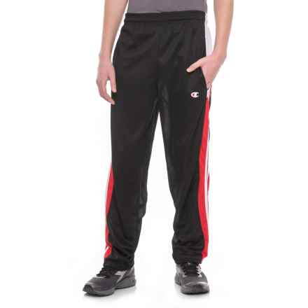 Champion Close Mesh Pants (For Men) in Black - Closeouts