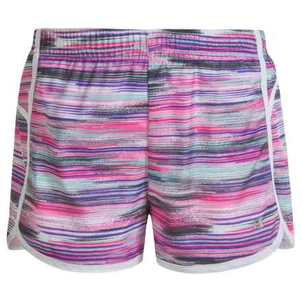 Champion Color-Block Running Shorts (For Big Girls) in Ombre Multi Color - Closeouts