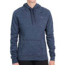 Champion Cotton-Blend Hoodie (For Women) in Cruising Blue Heather - 2nds