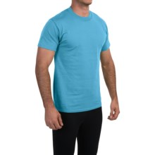 Champion Cotton Jersey T-Shirt - Short Sleeve (For Men) in Ocean View Heather - Closeouts