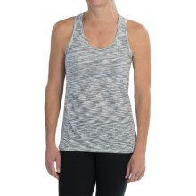 Champion Cotton Stripe Tank Top - Racerback (For Women) in White/Black - Closeouts