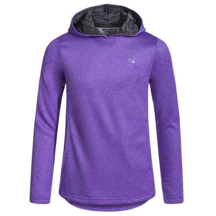 Champion Fleece Hoodie (For Big Girls) in Purple Hebe Heather - Closeouts