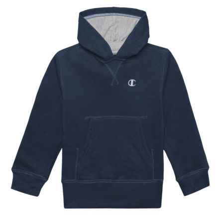 Champion Fleece Pullover Hoodie (For Toddler and Little Boys) in Navy - Closeouts