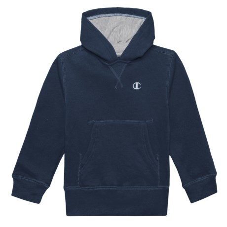 Champion Fleece Pullover Hoodie (For Toddler and Little Boys) in Navy