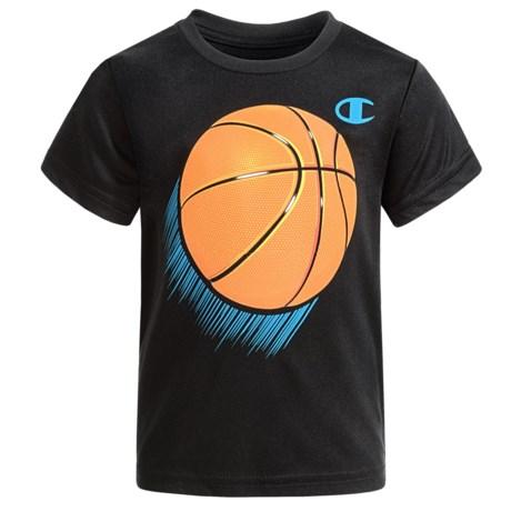 Champion Future Baller T-Shirt - Short Sleeve (For Infant Boys) in Black