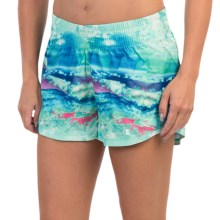 Champion Go-To Print Shorts (For Women) in Excursion Photoscape - Closeouts