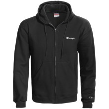 Champion Heavyweight Hoodie Sweatshirt (For Men) in Black - 2nds