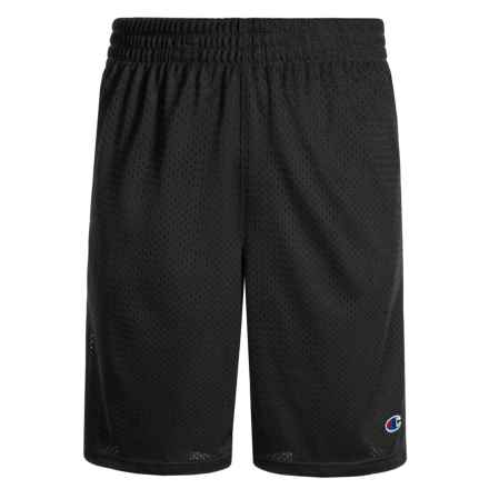 Champion Heritage Mesh Shorts (For Toddler and Little Boys) in Black - Closeouts