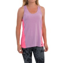 Champion Jersey Heather Tank Top - Racerback (For Women) in Sojourn Lilac/Pink Bloom Heather - Closeouts