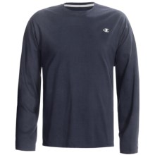 Champion Jersey T-Shirt - Long Sleeve (For Men) in Dark Blue - 2nds