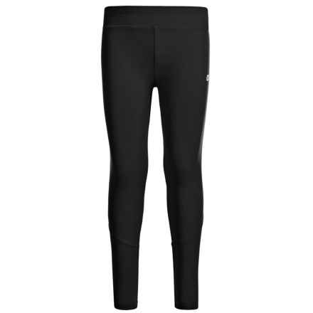 Champion Leggings (For Toddler and Little Girls) in Black/Spacedye Black - Closeouts