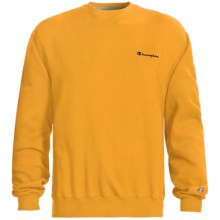 Champion Logo Sweatshirt - Long Sleeve (For Men) in Gold - 2nds