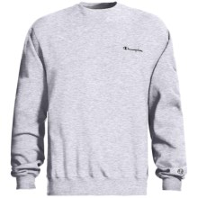 Champion Logo Sweatshirt - Long Sleeve (For Men) in Grey Heather - 2nds