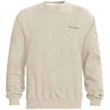 Champion Logo Sweatshirt - Long Sleeve (For Men) in Natural Heather - 2nds