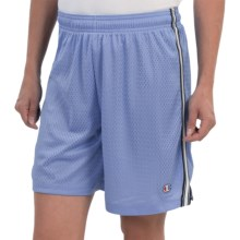 Champion Mesh Field Shorts (For Women) in Roaming Blue - Closeouts
