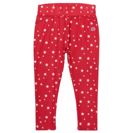 Champion Printed Capri Leggings (For Toddler and Little Girls) in Champion Scarlet