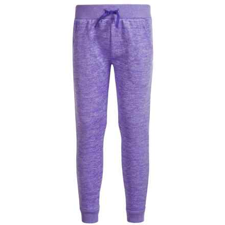 Champion Space-Dyed Joggers (For Toddlers and Little Girls) in Spacedye Purple - Closeouts